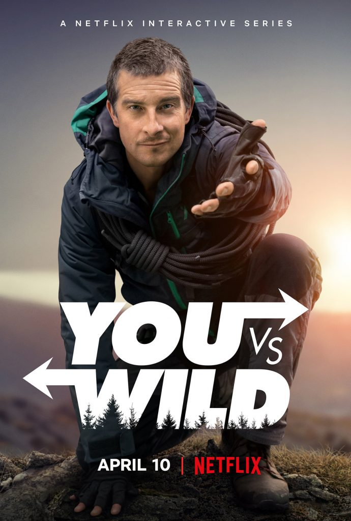 You vs. Wild, Netflix